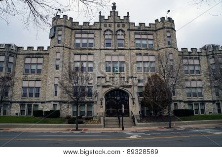 Joliet Central High School (built in 1901)