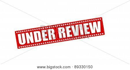 Under Review