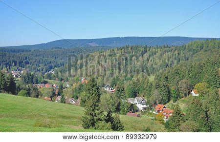 Altenau,Harz Mountain,Germany