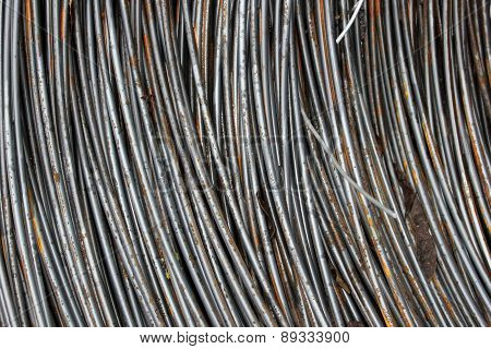Texture Of Metal Wire