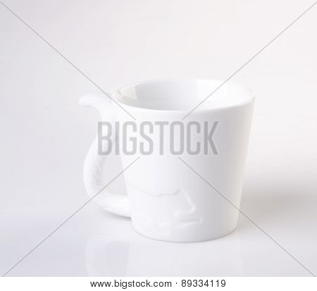 Mug. Ceramic Mug On A Background. Mug. Ceramic Mug On A Background.