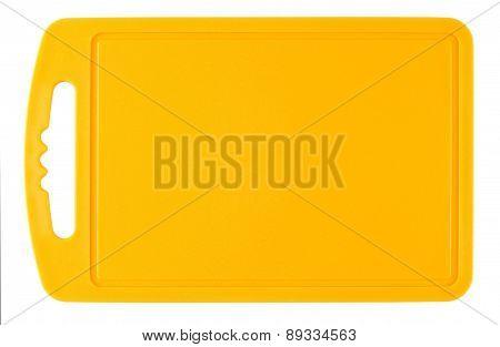Orange Plastic Cutting Board