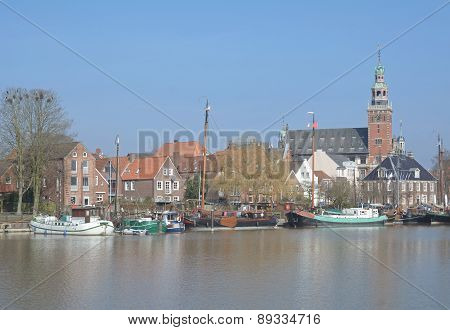 Leer,East Frisia,North Sea,Germany