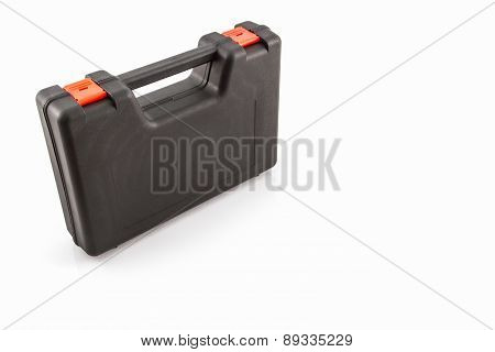 Black Tool Box, Plastic Case .
