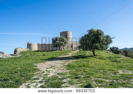 Castle Jimena De La Frontera, Cadiz, Spain