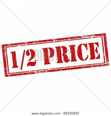 1/2 Price-stamp