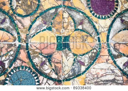 Roman Marble Floor Background