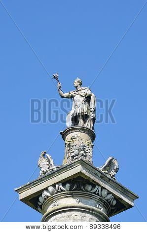 Detail of Duke of Marlborough victory column