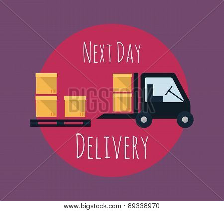 Cargo And Delivery, Freight Truck