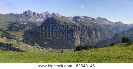 Langental and Cir Peaks, Dolomites, Italy