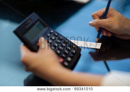 Filling price tag