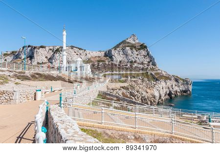 Mosque At Europa Point On Gibraltar