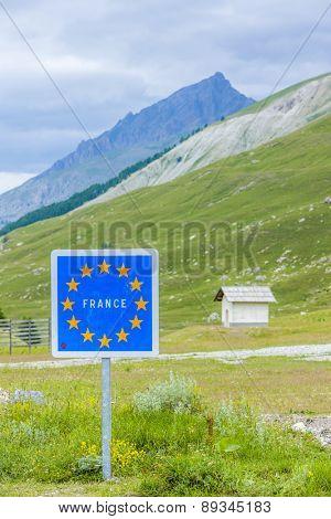 Col de Larche, Mercantour National Park, France