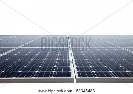 Solar power panel with clipping path