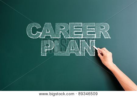 writing career plan on blackboard