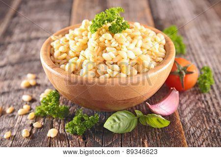 barley grain