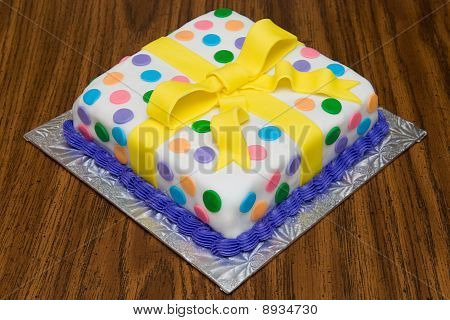 Fancy Decorated Birthday Cake