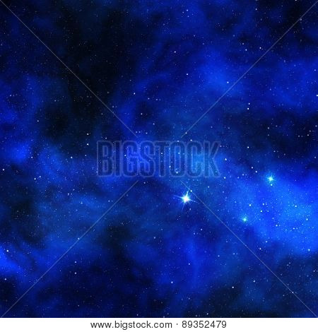 shining stars and cosmic dust
