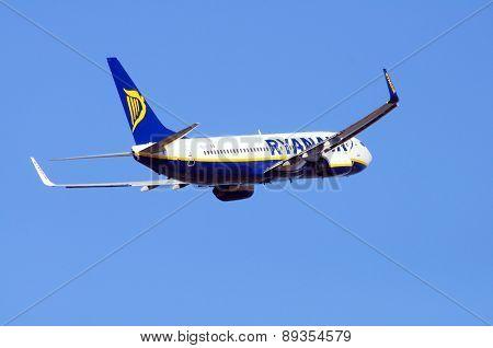 Ryanair Boeing 737-800.