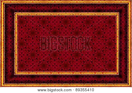 patterned background with a border