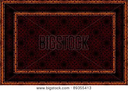patterned burgundy background