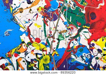 abstract vivid painting