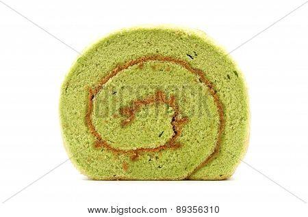 Matcha Kasutera Cake