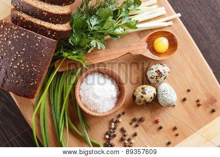 Snapshot Of Quail Eggs