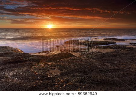 Sunrise At Coogee, Australia