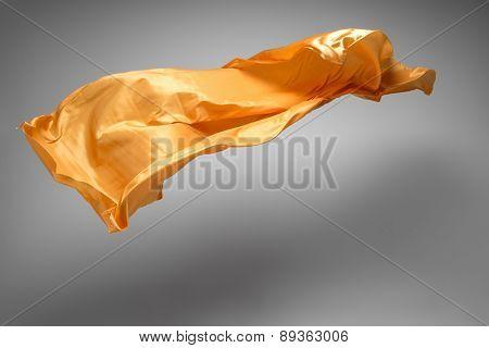 flying fabric - high speed studio shot, art object, design element