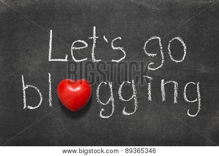 Go Blogging