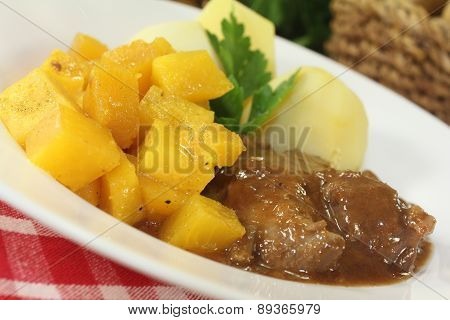 Venison Goulash With Turnips