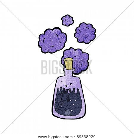cartoon magic potion
