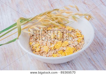 Breakfast Muesli With Dried Seeds