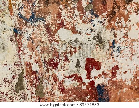 Peeling Paint Wall.