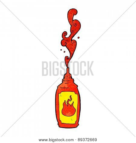 cartoon hot sauce