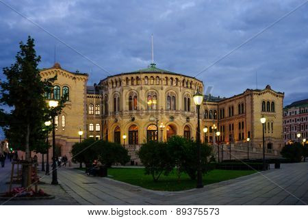 The Storting Building, Oslo
