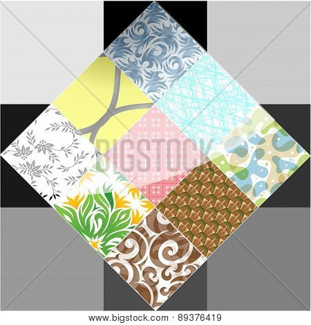 Abstract Element, Icon, Tile
