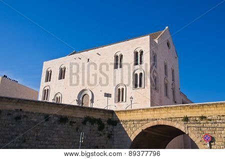 Cathedral Church of St. Nicola. Bari. Puglia. Italy.