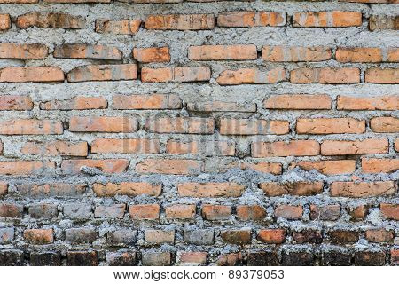 Old Brick Wall Background And Texture