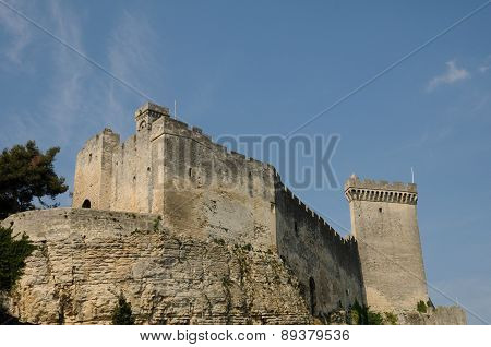 Castle Of Beaucaire In Gard