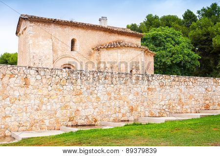 Saint Michael Church In Calafell Town, Spain