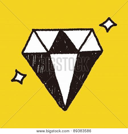 Diamond Doodle Drawing
