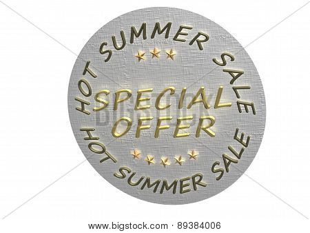 Special Offer Product Badge.