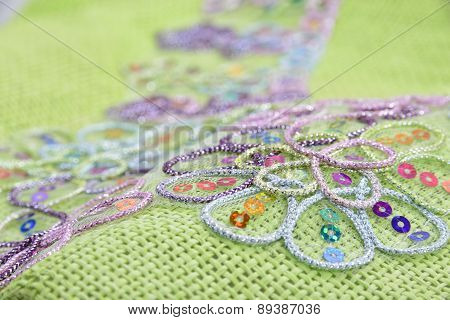 Cutout On Woven Fabric