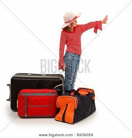 Little Traveler Girl