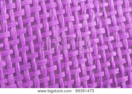 Braided Violet Canvas