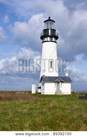 Historic Yaquina Lighthouse.