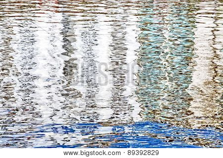 Hdr Shoot  Of A Water Surface  For Backgrounds