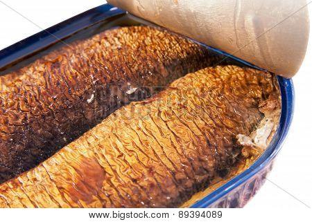 Smoked herring fillets